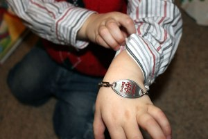 Charlie's Medic Alert Bracelet